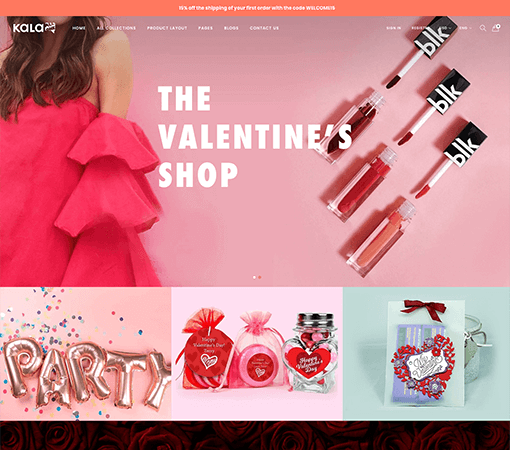 #18 - Valentine Store Demo